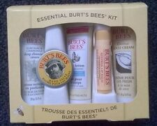 Burt's Bees Essential Skin Care Gift Box Lips Balm Hand Feet Lotion Cream
