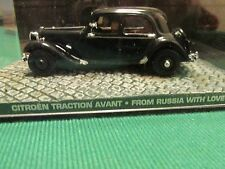 James Bond voitures collection 040 citroen traction avant de la Russie avec amour
