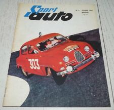REVUE SPORT AUTO N°2 02/1962 POSTER HILL F1 RALLYE MONTE-CARLO SAAB DAUPHINE1093