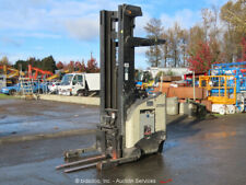 New ListingCrown Rr5225-45 Electric 4,500 lbs Warehouse Industrial Reach Forklift bidadoo