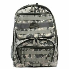 Digital Camouflage Outdoor Sport Military Hiking Backpack School Bag