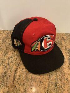 Vintage Sports Specialties Chicago Blackhawks NHL Snapback Hat 90s