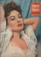 PARIS FROU FROU N°32 Anita Ekberg 1955 Curiosa Charme Frivole Nu Pin Up Girls
