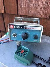 Vintage Adam 12 Type Federal Interceptor. Restored.