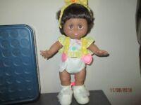 RARE GALOOB AFRICAN AMERICAN BABY FACE SARAH