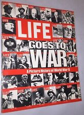 Life Goes To War - A Picture History of World War Ii (1977) Hc
