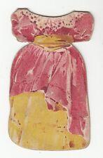 [64046] VINTAGE PAPER DOLL GIRL'S DRESS GRANDMOTHER SET ATLANTIC & PACIFIC TEA
