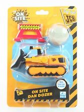 My 1st JCB On Site DAN DOZER bulldozer toy construction vehicle digger - NEW!