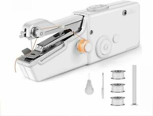 Handheld Mini Cordless Sewing Machine Portable Hand Held Stitch Clothes Home AU