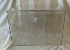 Clear Acrylic Display Case 95 W X 95 D X 12 H Showcase Art Lego Figure Ball