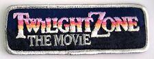 Twilight Zone   The Movie  - Patch  Uniform Aufnäher  neu