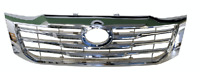 Grille Front Chrome For Toyota Hilux Tgn/Kun/Ggn 2011-2015