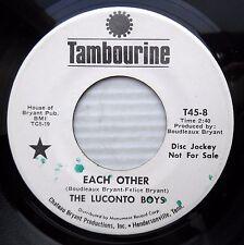 The Luconto Boys Soft rock pop promo 45 Each Other b/w Hello, Hello F2734