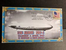 USS AKRON ZRS-4 Naval Cover 2007 DUANE WILSON AIRSHIP CRASHED Cachet