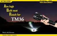Nitecore TM36 Tiny Monster Rechargeable Torch 1800 Lumens (UK Official Dealer)