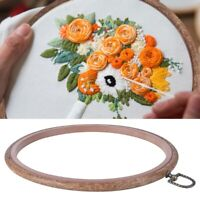 Embroidery Wooden Frame Hoop Ring Cross-Stitch Sewing DIY Tool Art Bamboo Crafts