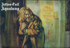 FREE 12x12 ART PRINT w/NEW AQUALUNG JETHRO TULL GREEN COLOR VINYL LP SW REMASTER
