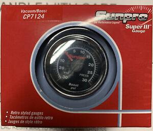 Sunpro CP 7124 Super lll Boost gauge.  New