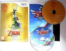 La Leyenda de Zelda SKYWARD SWORD Edición Limitada Nintendo Wii & Wii U 2 Discos