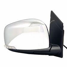 OEM Side Mirror 08-19 GRAND CARAVAN TOWN & COUNTRY Chrome Blinker Passenger Side