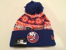 New York Islanders Cap Hat NHL Hockey New Era Beanie Toque Retro OSFM Chill Knit