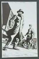 Green Hornet: Year One Original Comic Art by Aaron Campbell. Dynamite