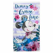 New ListingDisney Cruise Line Minnie Mouse Large Beach Towel, New