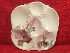 Oyster Plate Authentic Antique Limoges Oyster Plate  c.1891-1896, op468