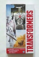 Transformers Optimus Prime Silver Knight Action Figure NIB Hasbro NIP