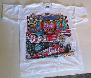 Vintage 1996 Kenny Bernstein King of Speed Tee Shirt Med First to 300 NHRA Bud