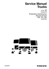 VOLVO TRUCKS PREVENTIVE MAINTENANCE ANNUAL SERVICE FM FH NH 2005 REPRINTED