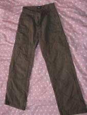 pantalon toile kaki  8ans