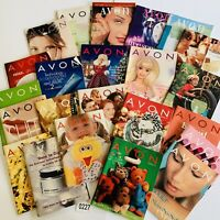 1997 Vintage Avon Catalog Campaign Books Lot of 23