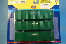 "Athearn 29169 3 x 40' Highcube Container ""CAPITAL LEASING"" *ORIGINAL / herpa*"