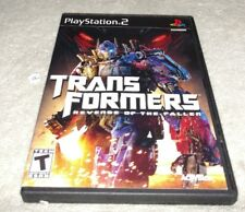 Transformers Revenge of Fallen Playstation 2 PS2 COMPLETE
