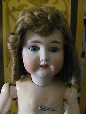 Antique Bisque Doll Wig Red Hair with Curls Size 11 New Old Stock in Box