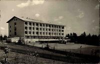 St. Blasien Schwarzwald alte s/w Postkarte 1955 Blick auf das Sanatorium Garten