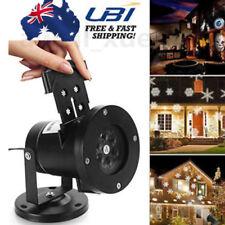 12 x Patterns LED Laser Projector Light Film Slide for Xmas Party Landscape Lamp