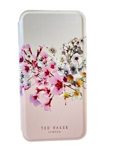 Ted Baker Mirror Case fits iPhone 11 Pink Floral Jasmine