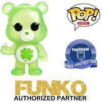 Funko POP! Care Bears GOOD LUCK BEAR CHASE #355 FREE SHIP & POP Protector!