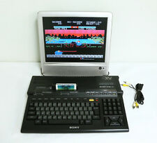 "Sony MSX 2+ HB-F1XV Personal Computer ""Excellent ++"" Tested Properly!!!"