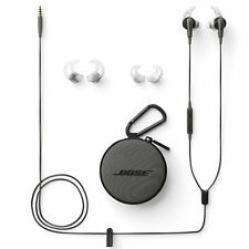 Bose SoundSport In-Ear Earphones Headphones - Charcoal Black