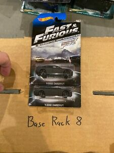 (2) 11 DODGE CHARGER R/T Hot Wheels 2014 Fast & Furious Official Movie 7/8 VHTF