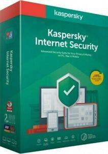 Kaspersky Internet Security 2020-2021 GLOBAL KEY   1 PC   MULTI-DEVICE   1 YEAR