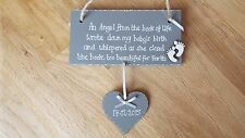 Personalised Angel from the book of life Baby Bereavement Memorial sign