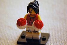 Lego® 8833 Serie 8 Sammelfigur Cheerleaderin in gutem Zustand