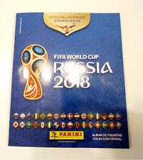 """RARE ARGENTINE PANINI """"PROMO GIFT ALBUM"""" RUSSIA 2018 FIFA WORLD CUP ---WOW!"""