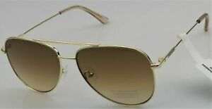 NWT Calvin Klein Unisex Sunglasses CK19133S Gold/Brown