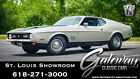 1971 Ford Mustang Mach 1 Lt. Pewter Metallic 1971 Ford Mustang Coupe 429 CID Super Cobra Jet V8 4 Speed M