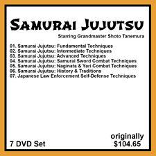 Shoto Tanemura's Samurai Jujutsu (7 Dvd Set)